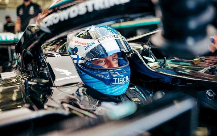 Bottas lidera la primera sesión de entrenamientos libres en Spa, marcada por la meteorología variable