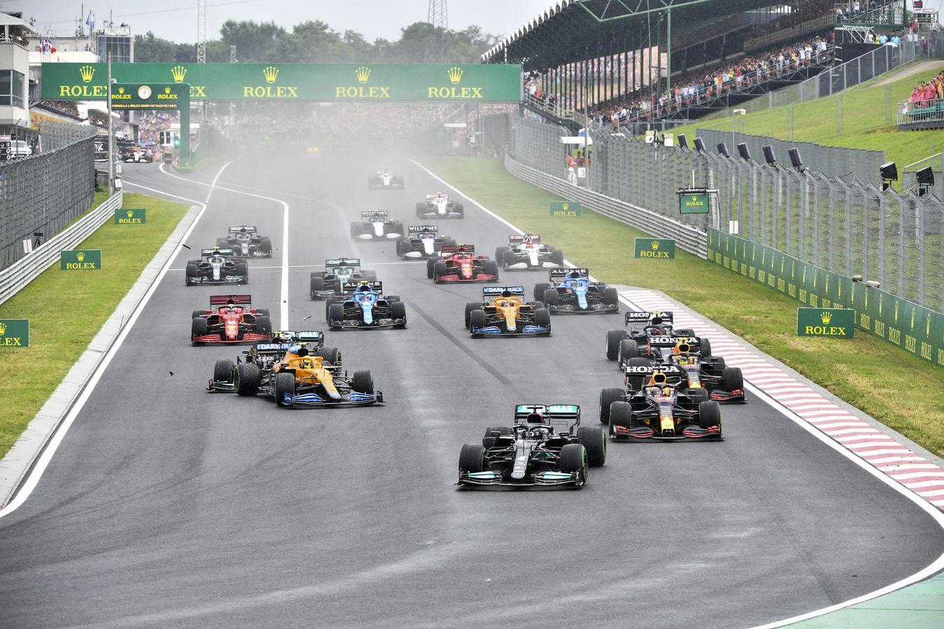Domingo en Hungría – McLaren, perjudicado por la vuelta 1