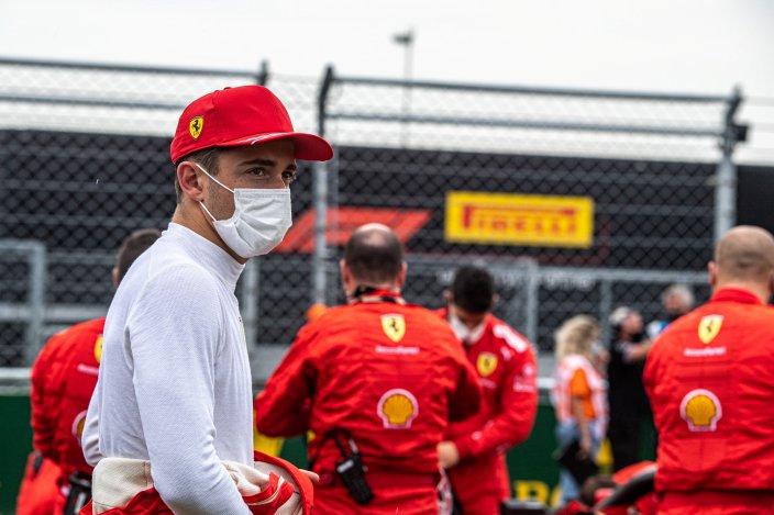 Ferrari cree que los daños del coche de Leclerc deberían ser pagados por el culpable