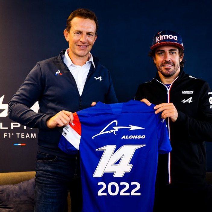 OFICIAL: Fernando Alonso seguirá en Alpine en 2022