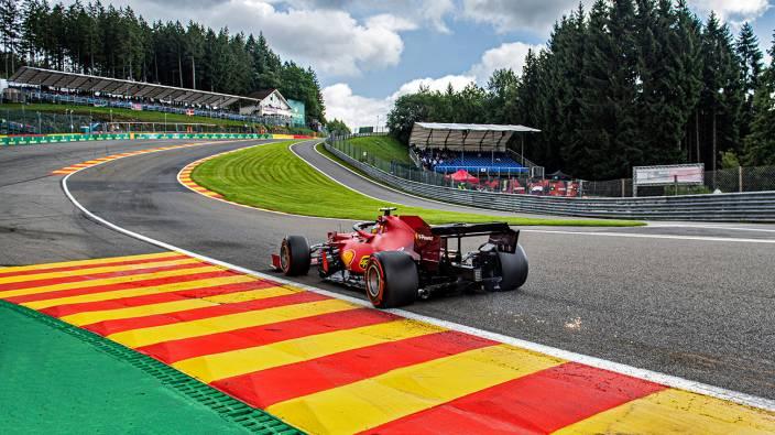 Viernes en Bélgica - Ferrari con esperanzas de mejorar