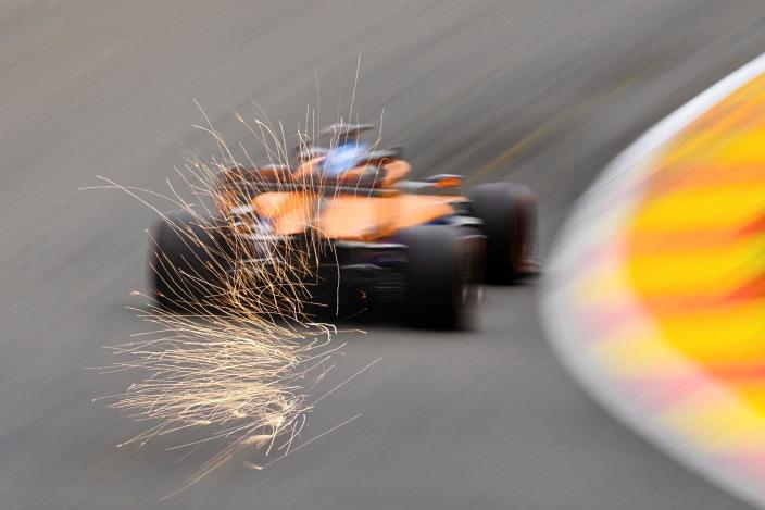 Viernes en Bélgica - McLaren se pierde en la media tabla