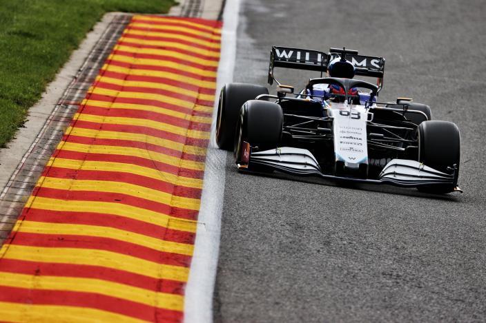 Viernes en Bélgica - Williams vuelve a la parte baja
