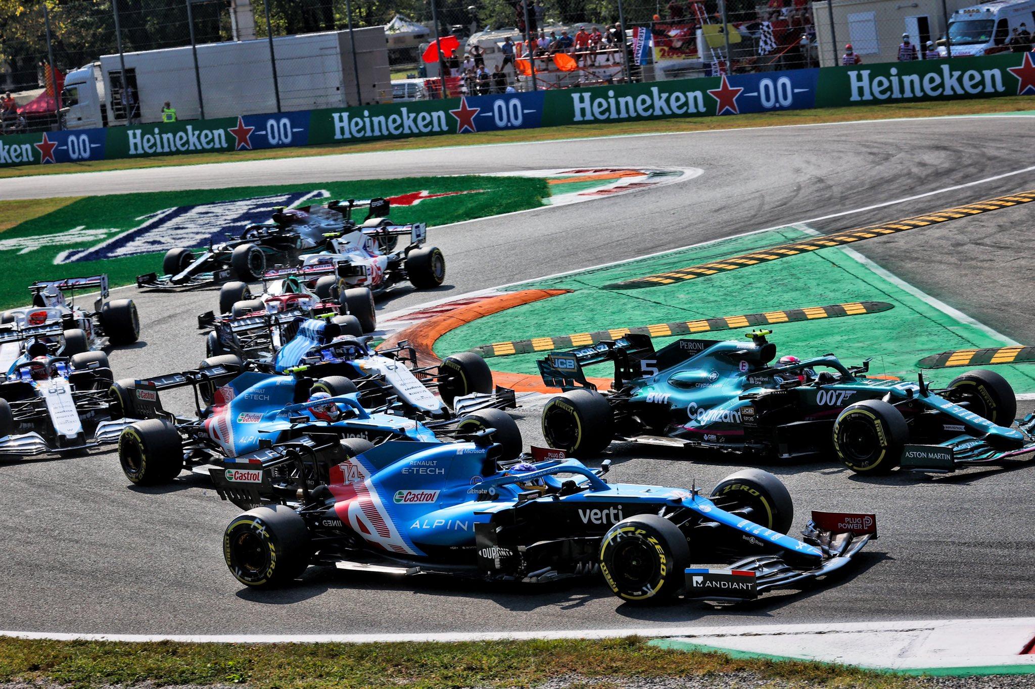 Domingo en Italia – Alpine consigue puntuar evitando los incidentes de Monza