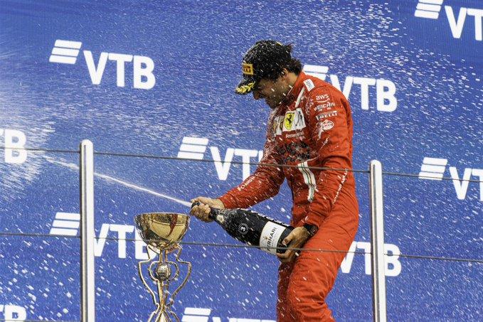 Domingo en Rusia '21 - Ferrari