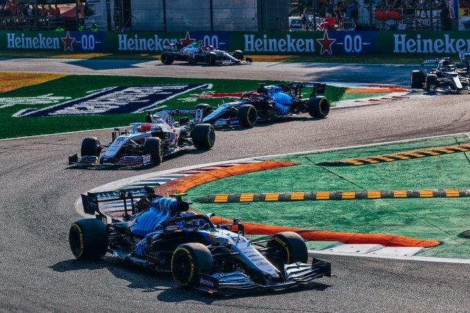 Sábado en Italia Williams un sólido trabajo