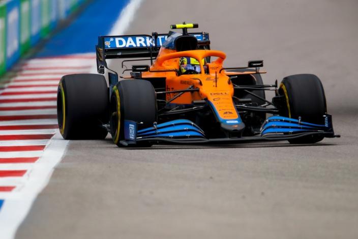 Domingo en Rusia - McLaren y Norris, destrozados