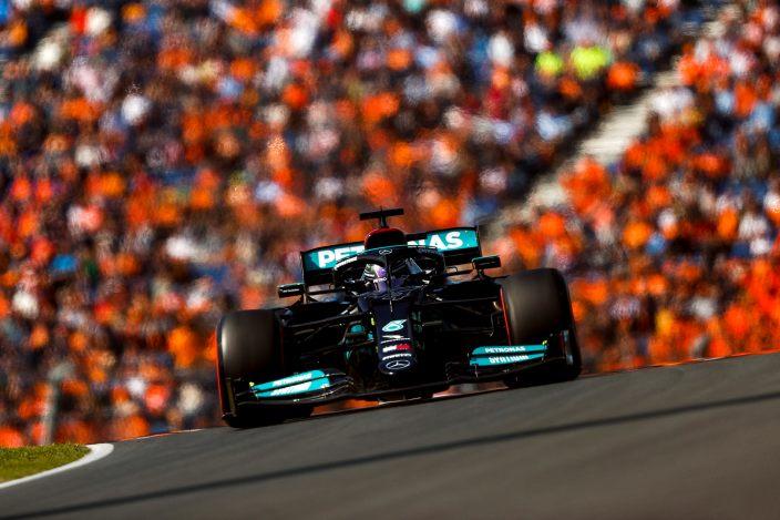 Sábado en Holanda - Mercedes se queda a un paso de la pole