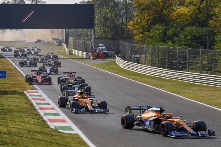 Sábado en Italia - McLaren vuelve a la primera fila