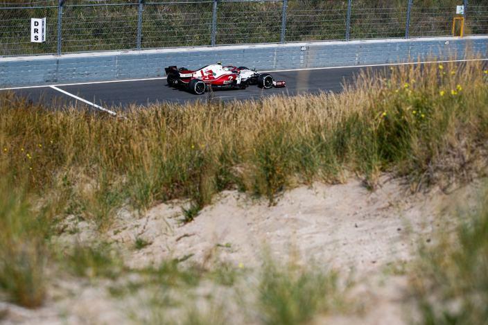 Viernes en Holanda - Alfa Romeo se cuela en el top 10 con Giovinazzi