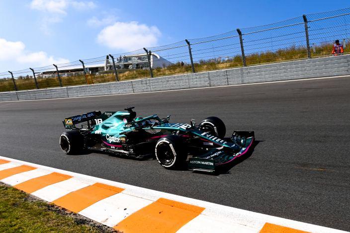 Viernes en Holanda - Aston Martin y Vettel, con problemas en Zandvoort