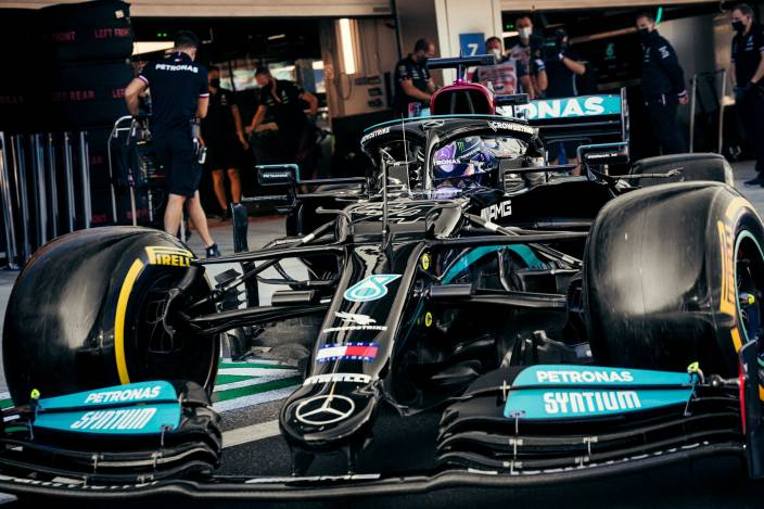 Viernes en Rusia - Mercedes se reafirma en Rusia