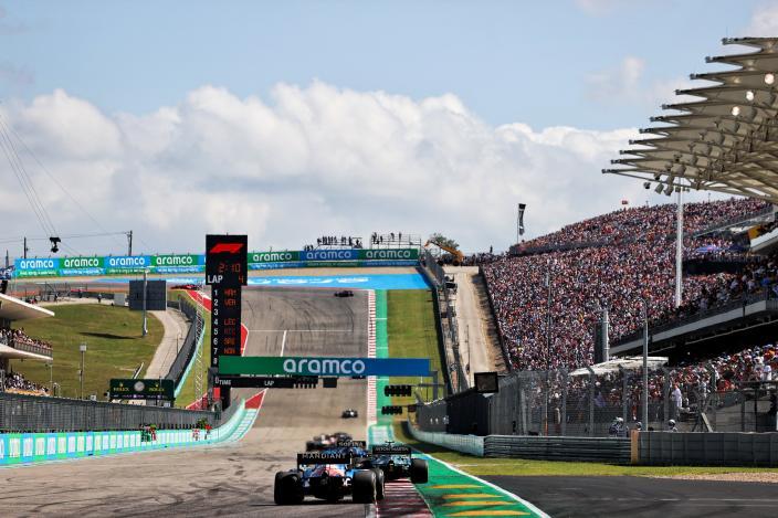 Alonso y Ocon se lamentan de su poco ritmo en Austin