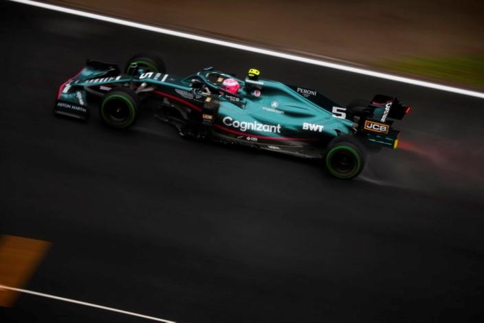 Domingo en Turquía - Aston Martin asegura con Stroll y arriesga con Vettel