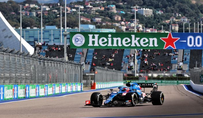 """Ocon, tras el GP de Rusia: """"Nos faltaba bastante tiempo por vuelta"""""""