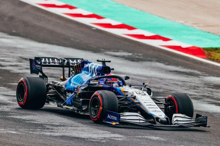 Sábado en Turquía - Williams y Russell pierden la Q3 en la última curva