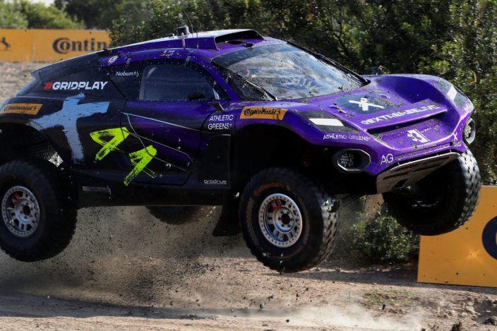 El X44 lidera la primera sesión de quali en Cerdeña